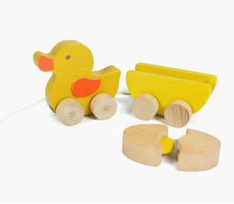 Awesome non chocolate easter gift ideas brisbane kids ever earth pull along duck negle Image collections