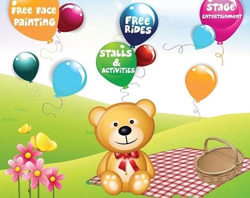 under 5 teddy bears picnic