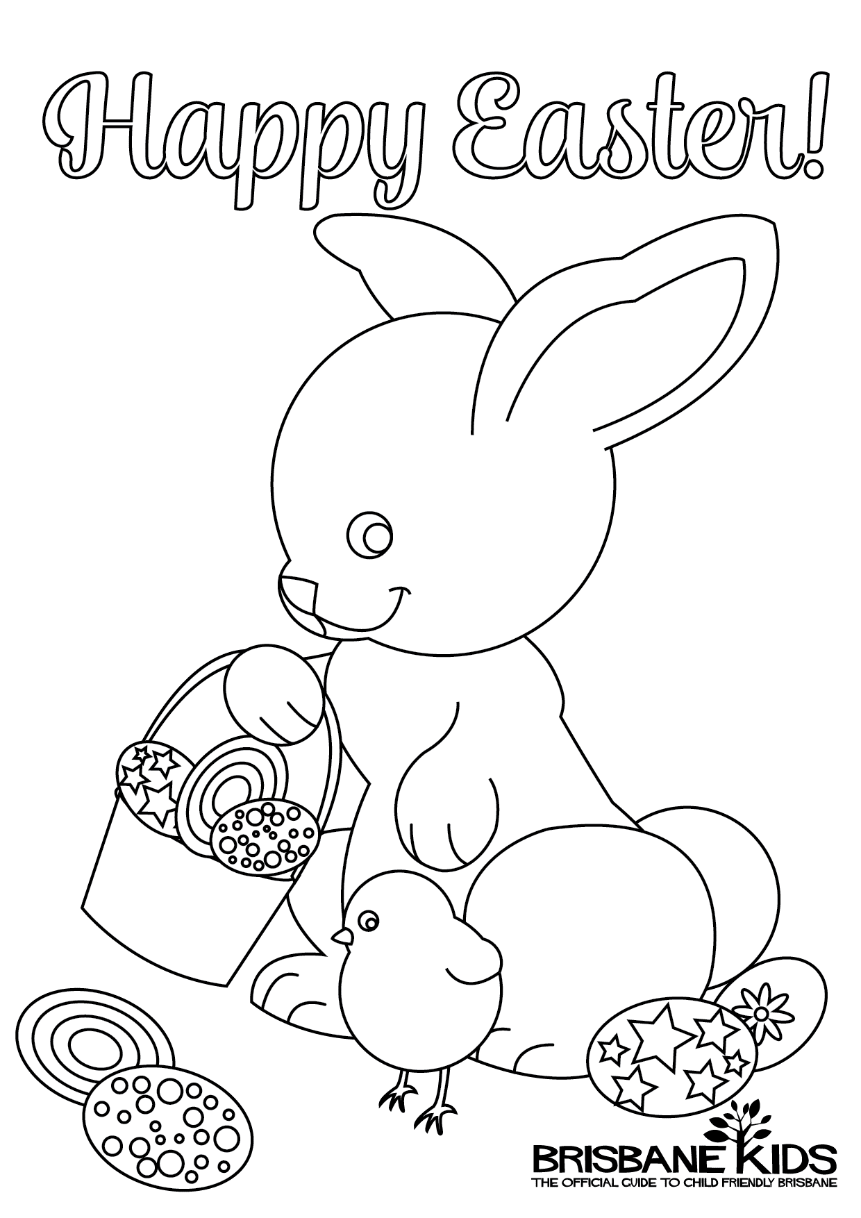easter themed coloring pages - photo#11