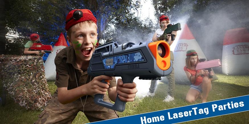 Home Laser Tag Parties Brisbane Kids
