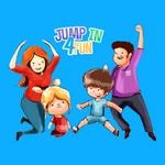 Jump In 4 Fun Logo Blue