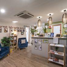 childcare centre foyer