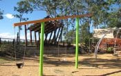 Swings at Central park Narangba