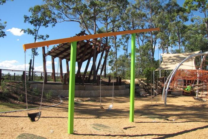 Swings at Central park Narangba
