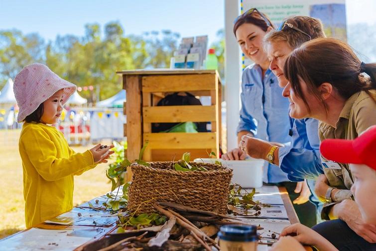 green heart fair hands on activities for kids