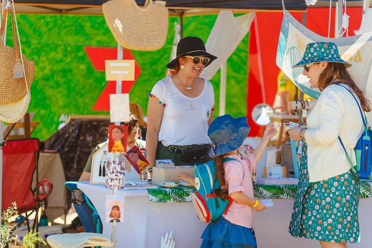 green heart fair market stalls