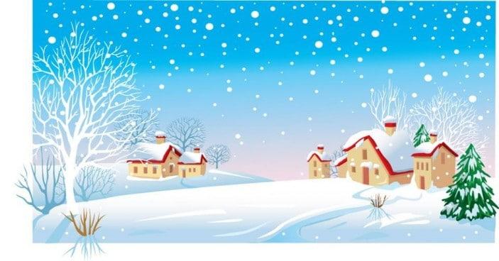 snow4kidscartoon snow house