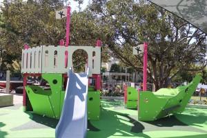 slide at south bank parklands