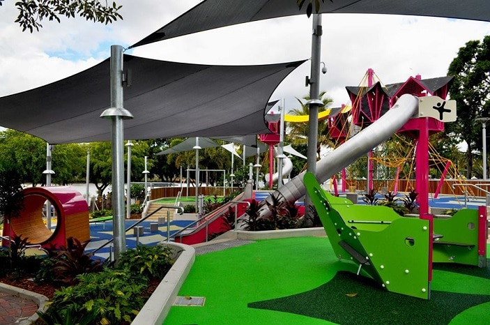 Playgrounds At South Bank Parklands Brisbane Kids