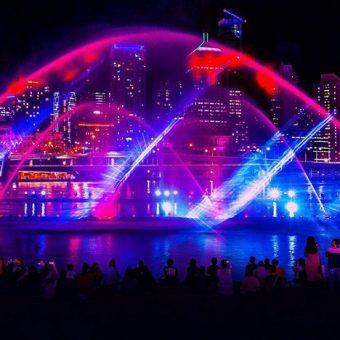 River of light 2019 Brisbane Festival