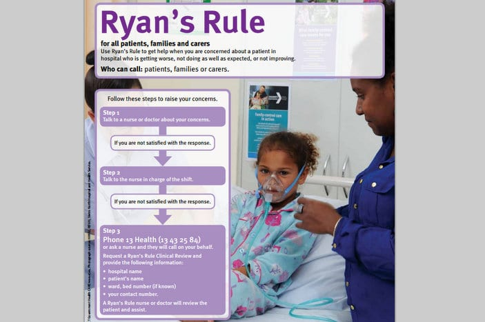 Steps for activating Ryan's Rule