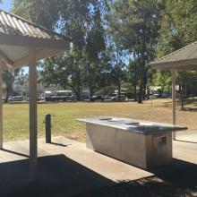 BBQ facilities at Mitchelton Library Park