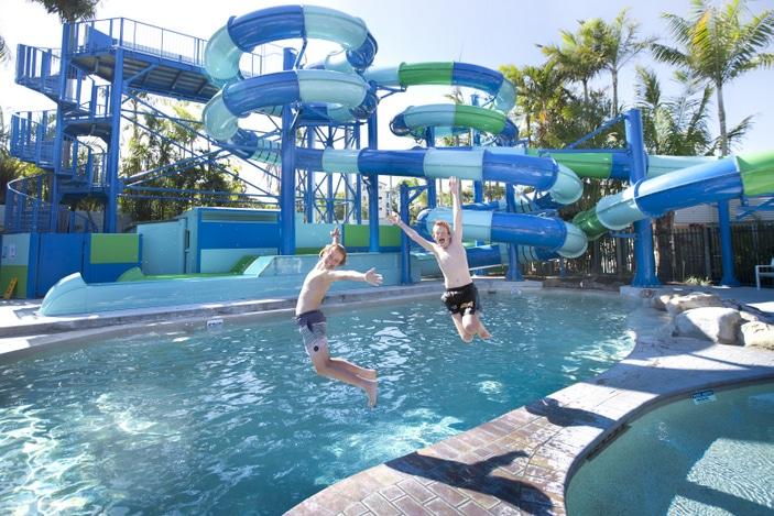 North Star Holiday Resort, waterslides, holiday resort