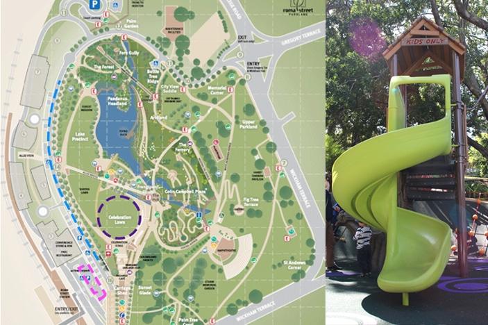 Roma Street Parklands Map Roma Street Parklands Map | compressportnederland Roma Street Parklands Map