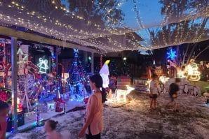 redbank plains christmas lights brisbane tindle street