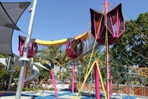 South Bank Playground Draw Bridges