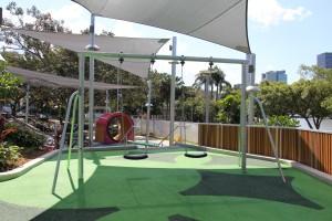swing equipment at South Bank