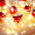 Christmas lights decorations istock