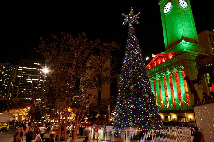 The Wonder of Christmas | Brisbane city Christmas celebrations 2015 ...