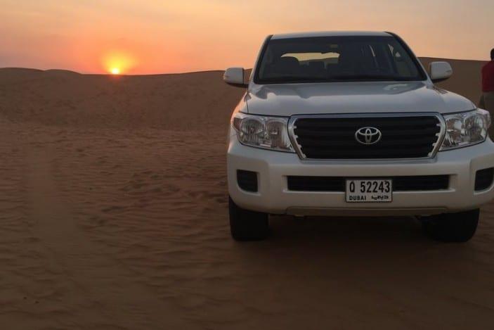 Arabian Adventures 4WD in desert
