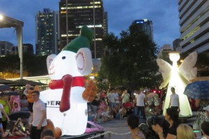 Myer Christmas Parade and Pantomime review
