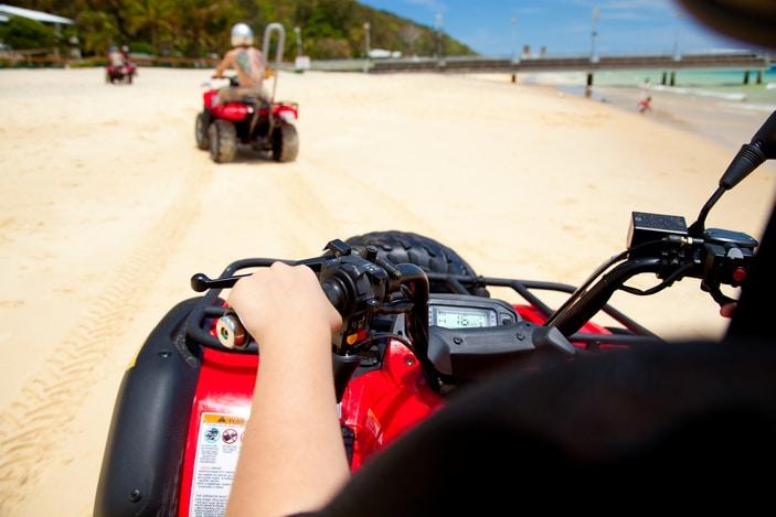Land based tours at Tangalooma Island Resort