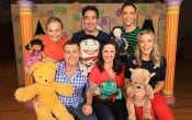Play School Live, Jemima, Big Ted, Little Ted, humpty, Play School characters, play school presenters, Alex, Emma, Teo, rachel, abbi, matthew