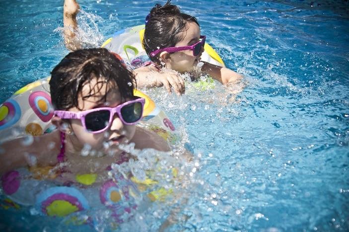 australia day swimming brisbane water beach
