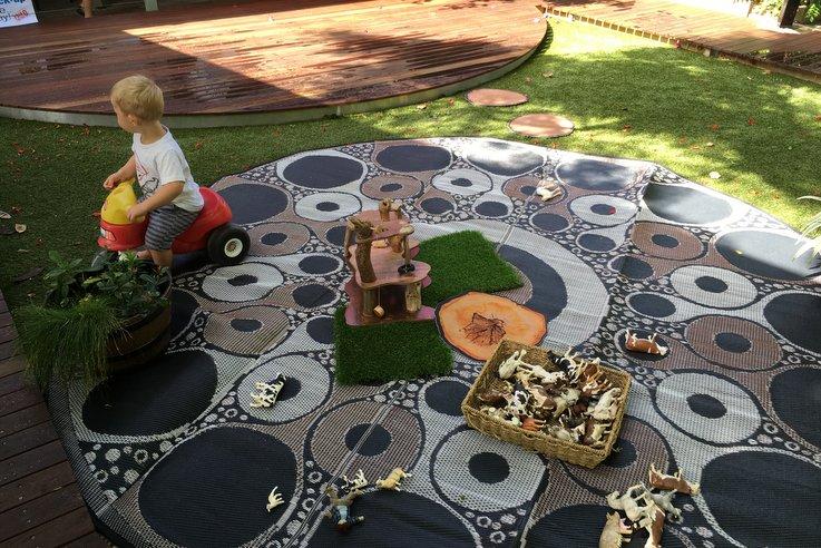 Recycled Mats Marang Art