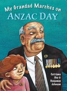 ANZAC grandad marches