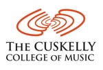 Cuskelly College of Music logo
