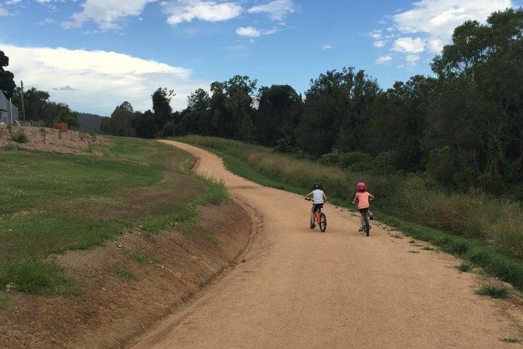 Samford bike riding track