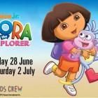 Dora The Explore at Toombul