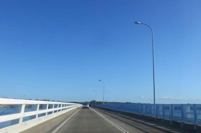 Bridge across Pumicestone Passage