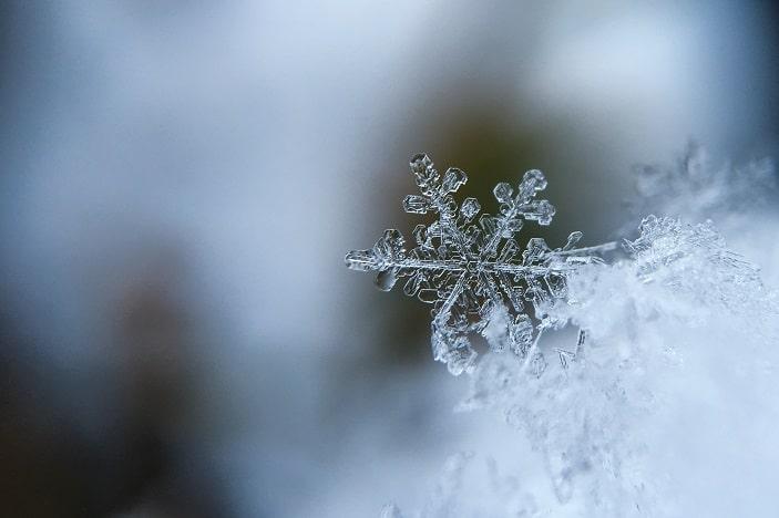 snowflakes in stanthorpe, close up snowflake, icy snowflake