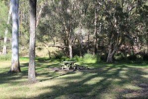 picnic areain bunyaville conservation park