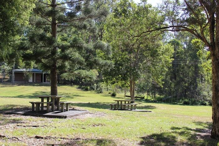 picnic area at bunya ville