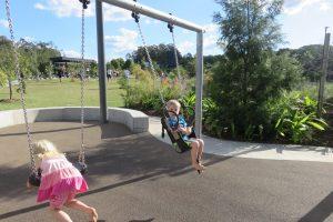 kids on swings kuta kids playground