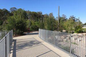 walking path in botnanic gardens