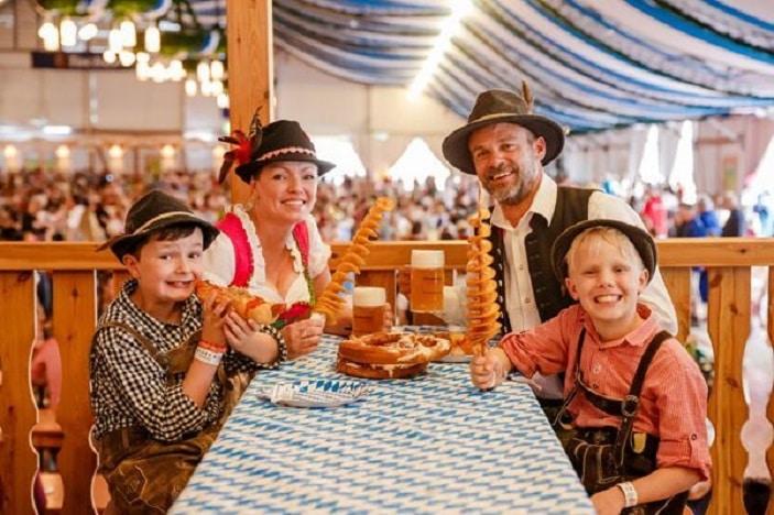 Oktoberfest Brisbane family feast