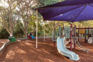 slide in playground