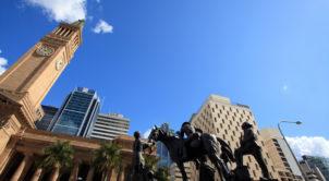 King George Square & City Hall Brisbane