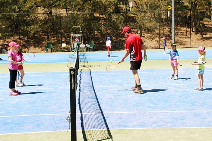 Griffith Uni School Holidays Tennis Coaching