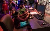 Pop-up Virtual Reality Game Zone