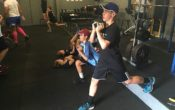 kids learning to get fit and train for fitness