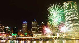 Australia Day Fireworks South Bank