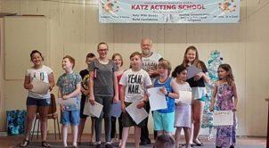 KATZ acting School class-photo