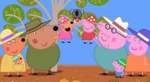 peppa pig Asutralian movie holiday