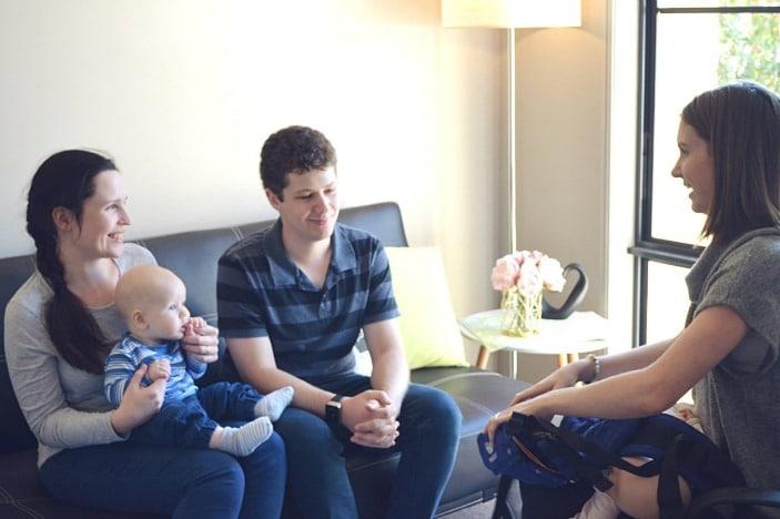 Kangatraining baby wearing consultation