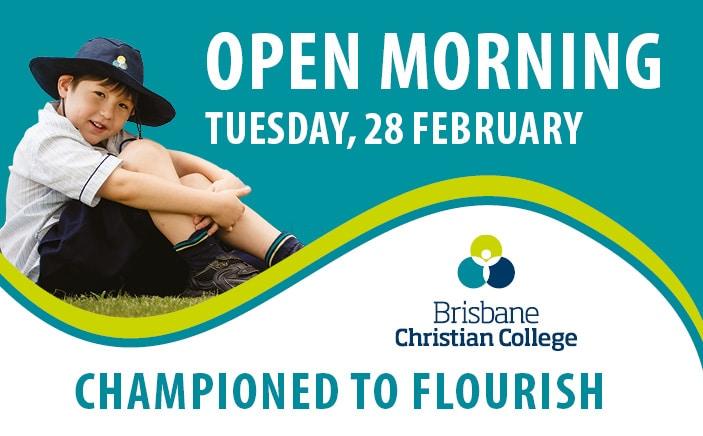 Brisbane Christian College Term 1 2017 Website Slider